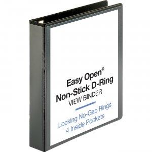 Business Source Locking D-Ring View Binder 26958 BSN26958