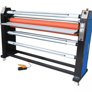 "Royal Sovereign 65"" Pneumatic Laminator w/ Top Roll Heat Assist & intergrated Rear Rewinder PARAMOUNT 65X"