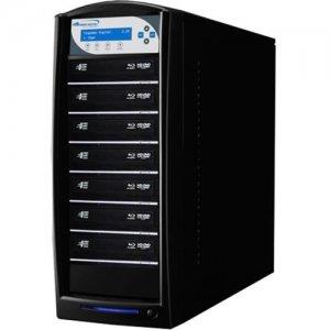 Vinpower Digital SharkBluCP BD CopyProtection Blu-ray/DVD/CD Tower Duplicator SHARKBLUCP-S7T-BK