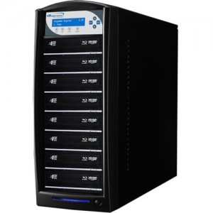 Vinpower Digital SharkBluCP BD CopyProtection Blu-ray/DVD/CD Tower Duplicator SHARKBLUCP-S8T-BK