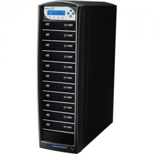 Vinpower Digital SharkBluCP BD CopyProtection Blu-ray/DVD/CD Tower Duplicator SHARKBLUCP-S11T-BK