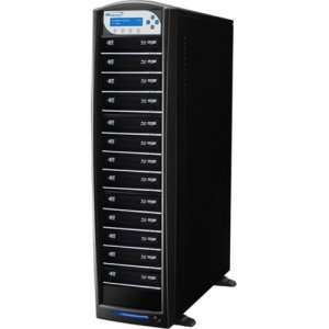 Vinpower Digital SharkBluCP BD CopyProtection Blu-ray/DVD/CD Tower Duplicator SHARKBLUCP-S13T-BK