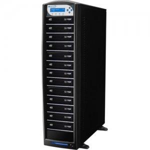 Vinpower Digital SharkBluCP BD CopyProtection Blu-ray/DVD/CD Tower Duplicator SHARKBLUCP-S13T-BK