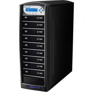 Vinpower Digital SharkBluCP BD CopyProtection Blu-ray/DVD/CD Tower Duplicator SHARKBLUCP-S9T-BK
