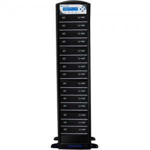 Vinpower Digital SharkBluCP Blu-ray/DVD/CD Tower Duplicator (Supports BD CopyProtection) SHARKBLUCP-S15T-BK