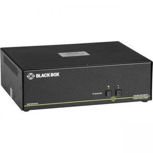 Black Box NIAP 3.0 Secure 2-Port Dual-Head DVI-I KVM Switch SS2P-DH-DVI-U