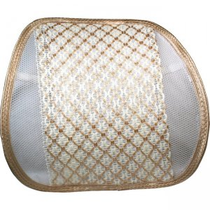 QVS Premium Ergonomic Lumbar Back Support with Woven Pad SC-2A