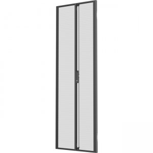 VERTIV 48U x 800mm Wide Split Perforated Doors Black (Qty 2) VRA6008