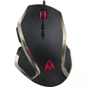 Adesso Multi-Color 9-Button Programmable Gaming Mouse IMOUSE X3 X3