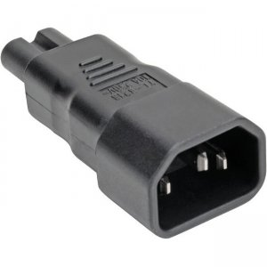 Tripp Lite IEC C14 to IEC C5 Power Cord Adapter - 10A, 250V, Black P014-000