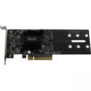 Synology Dual M.2 SSD Adapter Card for Extraordinary Cache Performance M2D18