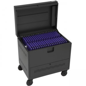 Bretford CUBE Toploader Cart TVTL40PAC-CH TVTL40PAC