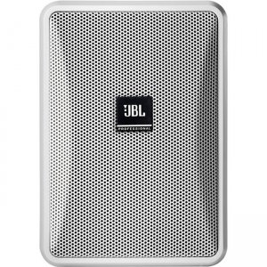 JBL CONTROL Ultra-Compact 8-Ohm Indoor/Outdoor Background/Foreground Speaker CONTROL 23-1L-WH 23-1L