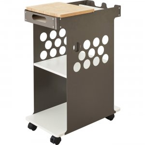 Safco Mini Rolling Storage Cart 5209WH SAF5209WH