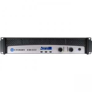 Crown Two-channel, 2100W @ 4, 70V/140V Power Amplifier NCDI6000 CDi 6000