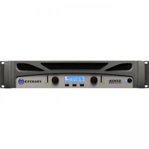 Crown Two-channel, 1200W @ 4 Power Amplifier NXTI4002-U-US XTI 4002