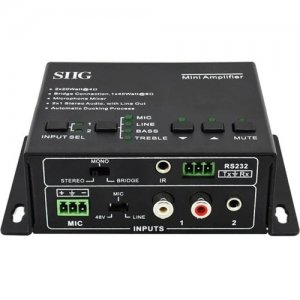 SIIG Mini Digital Amplifier CE-AU0011-S1