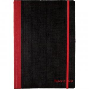 Black n' Red Flexible Casebound Notebook 400110478 JDK400110478
