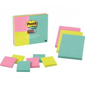 Post-it Miami Colors Super Sticky Notes Combo 46339SSMIA MMM46339SSMIA