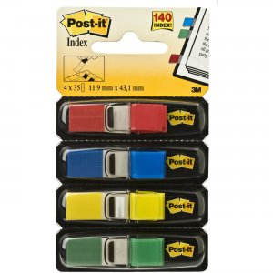 Post-it Assorted Color Small Flags Value Pack 68346PK MMM68346PK