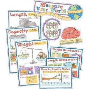 Carson-Dellosa Measure Your World Bulletin Board Set 110379 CDP110379