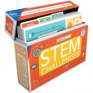 Carson-Dellosa STEM Challenges Learning Cards 140350 CDP140350