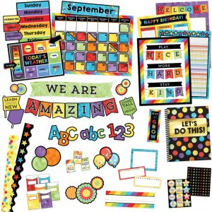 Carson-Dellosa Celebrate Learning Variety Decor Set 145090 CDP145090
