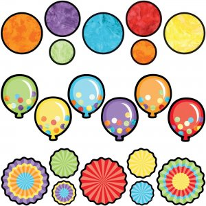 Carson-Dellosa Celebrate Learning Colorful Cut-Outs 145105 CDP145105
