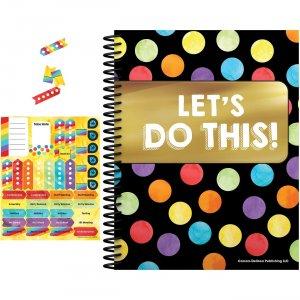 Carson-Dellosa Celebrate Learning Planner/Accent Set 145110 CDP145110