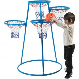 Angeles 4-Hoop Basketball Stand AFB7950 CFIAFB7950