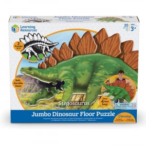 Learning Resources Jumbo Dinosaur Floor Puzzle - Stegosaurus LER2858 LRNLER2858