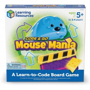 Learning Resources Code & Go Mouse Mania Board Game LER2863 LRNLER2863