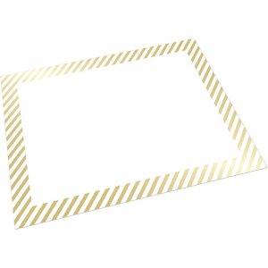 Pacon Foil Stripe Border Poster Board CAR39717 PACCAR39717