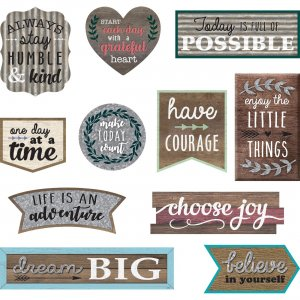 Teacher Created Resources Clingy Positive Accents 77875 TCR77875