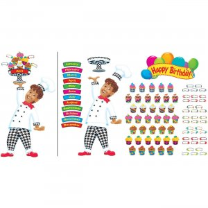 TREND Happy Birthday Bake Shop Bulletin Board Set 8350 TEP8350