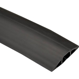 "Black Box FloorTrak Cable Cover - 0.75"" x 0.5"" DIA, Black, 5-ft FK310-R2"