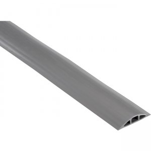 "Black Box FloorTrak Cable Cover - 0.5"" x 0.312"" DIA, Gray, 10-ft FK213-R2"