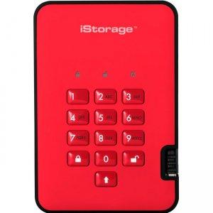iStorage diskAshur2 Hard Drive IS-DA2-256-1000-R