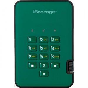 iStorage diskAshur2 Solid State Drive IS-DA2-256-SSD-512-GN