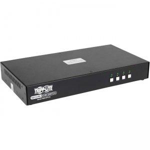 Tripp Lite Secure 4-Port NIAP PP3.0-Certified DisplayPort KVM Switch B002-DP1A4