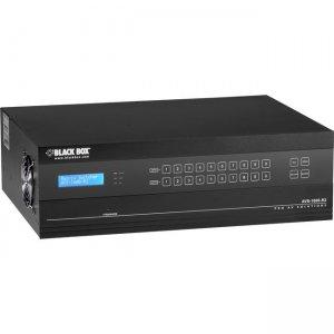 Black Box Modular Matrix Switcher 16 port, 4K Seamless, I/O Auto detect AVS-1600-R2