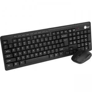SIIG Wireless Extra-Duo Keyboard & Mouse JK-WR0T12-S1