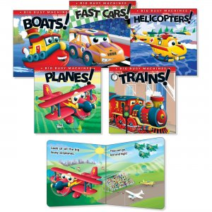 Rourke Educational Big Busy Machines Board Book Set 418723 CDP418723