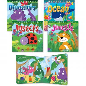 Rourke Educational Number Find Board Book Set 418778 CDP418778