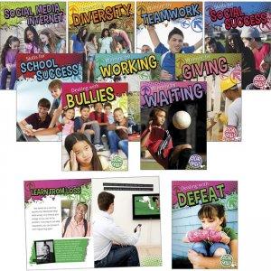 Rourke Educational Grades 3-5 Social Skills Book Set 697961 CDP697961