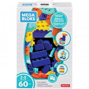 Mega Bloks Let's Build! Building Blocks Set FLY43 MBLFLY43