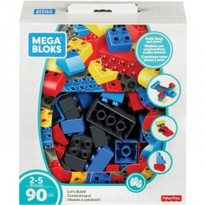 Mega Bloks Let's Build! Building Blocks Set FLY44 MBLFLY44
