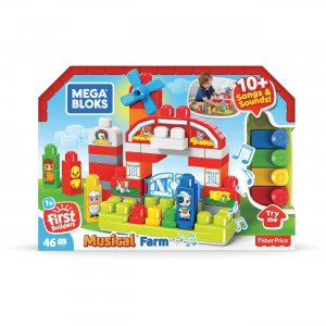 Mega Bloks First Builders Musical Farm GCT50 MBLGCT50