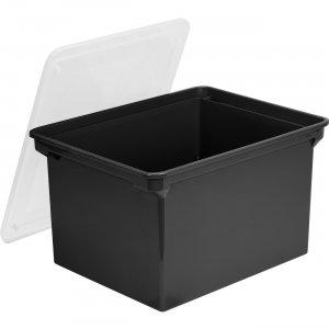 Storex Letter/Legal Tote Storage Box 61528U04C STX61528U04C