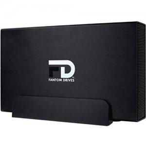 Fantom Drives G-Force Quad USB 3.0/2.0, eSATA, FireWire 800/400 Aluminum External Hard Drive GFP1000Q3-G